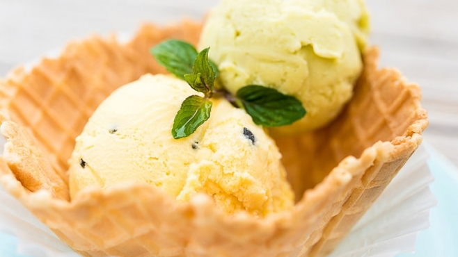 avocado coconut-lime ice cream