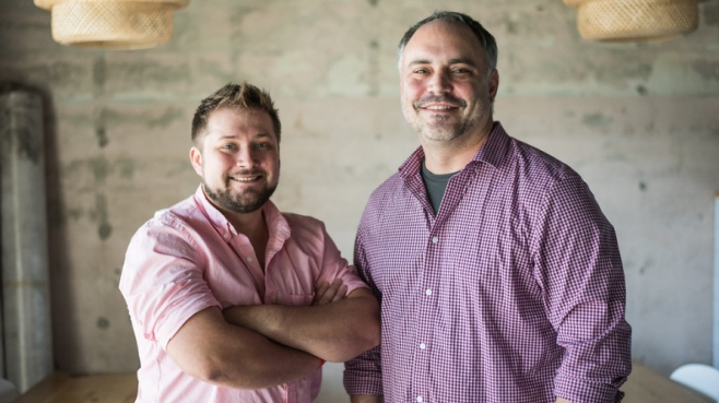 Dwayne Beliakoff and Jonathan Cobbs, co-owners of The Bread and Board.