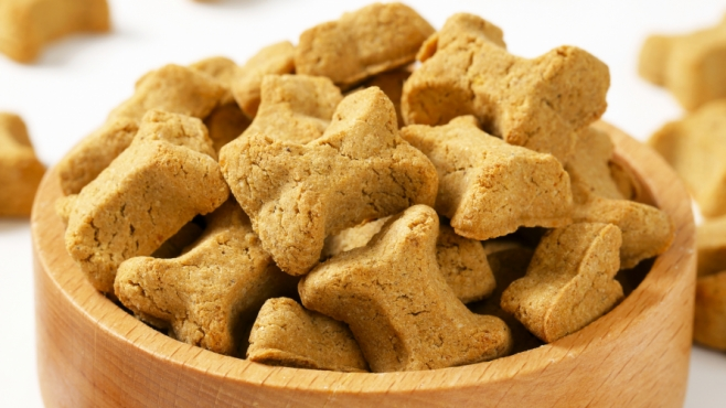 Homemade Peanut Butter Bones for Love Your Pet Day