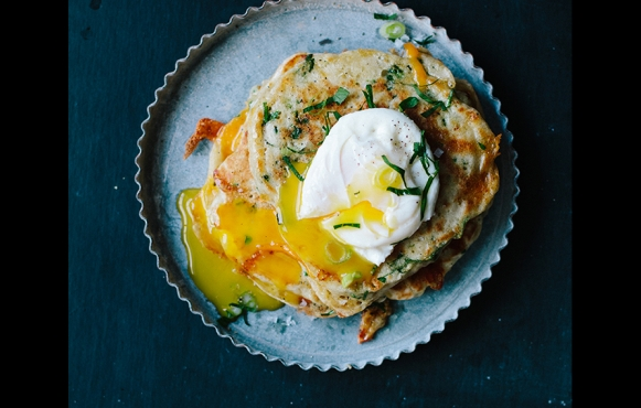 vegetable-pancake-poached-egg-kathleen-korb
