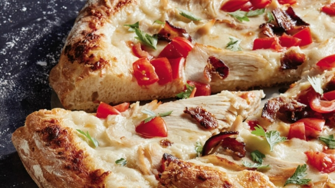 hot brown pizza