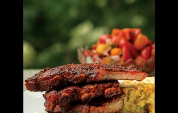savory summer ribs
